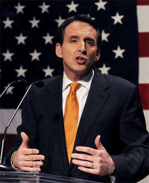 Former Minnesota Gov. Tim Pawlenty. (Steve Pope / Getty Images)