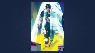 Pittsburgh Penguins center Tyler Kennedy (48) walks through laser lighting as he is introduced before their home opener NHL hockey game against the Toronto Maple Leafs in Pittsburgh, Wednesday. The Penguins are regrouping after losing to the Maple Leafs.