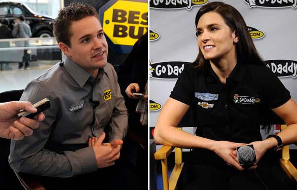 NASCAR drivers Ricky Stenhouse Jr. and Danica Patrick have confirmed they are dating.