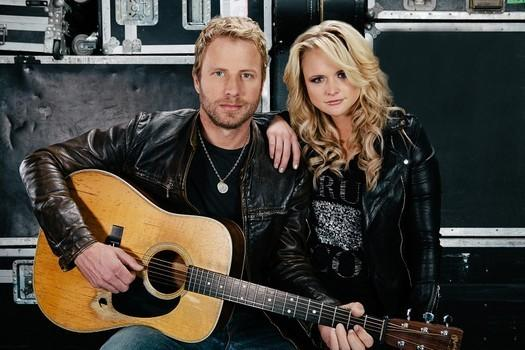 Dierks & Miranda At Grammys