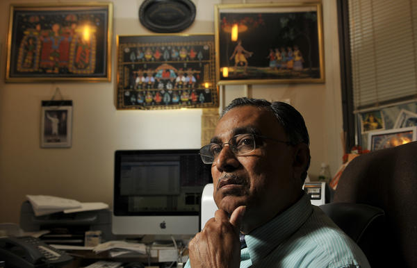 Dipak Das, a former University of Connecticut scientist fired after accusations that he fabricated much of his research, wants to file a $35 million defamation lawsuit against UConn.