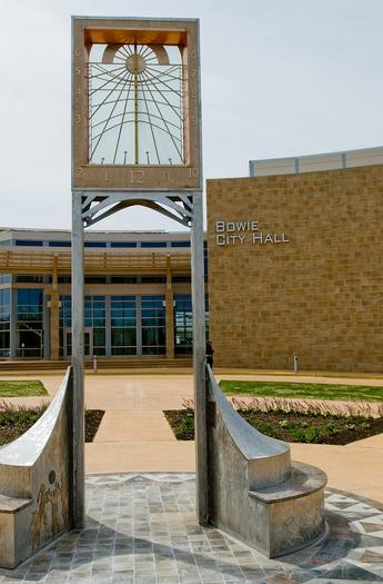 Bowie City Hall was given LEED gold certification last year.