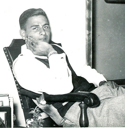 Former Petoskey High School standout athlete Harry Compton, as shown here in this 1953 photo, earned 13 varsity letters during his stellar career with the Northmen, which spanned from 1948-1952. Compton is best known in Petoskey athletic circles for quarterbacking the 1951 Northmen football team to a 9-0 record, earning Class B All-State honors and the moving on to Michigan State University where he played freshman football along with future NFL quarterback Earl Morrall.