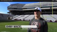 Texas A&M and Heisman Trophy winner Johnny Manziel shows off some skills in a new trick shot video featured on YouTube.