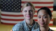 Servicewomen say end of combat ban will level playing field