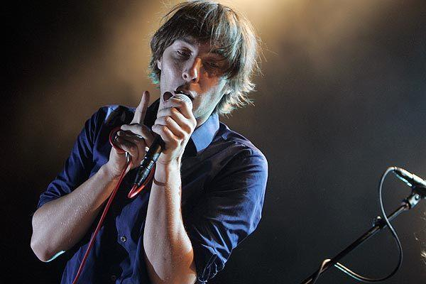 Thomas Mars of French band Phoenix
