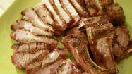 Recipe: Grilled pork chops with sweet lemon grass marinade