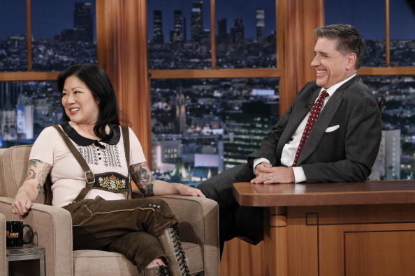 Actor Margaret Cho on 'The Late Late Show with Craig Ferguson,' Jan. 10, on the CBS Television Network.