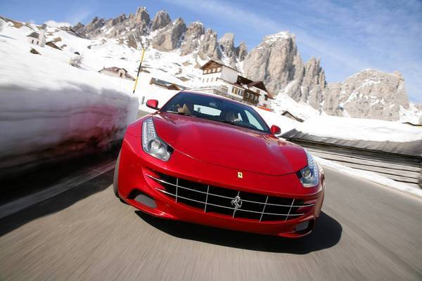 "<a href=""/business/autos/la-fi-autos-review-ferrari-ff-20130124,0,7718400.story""> By David Undercoffler of the Los Angeles Times writes: </a> At a few inches shorter than a Ford Explorer, the FF boasts more trunk space than a Toyota Camry does. And that's behind four leather-lined seats that can actually fit adults for trips of appreciable duration. <a href=""/business/autos/la-fi-autos-review-ferrari-ff-20130124,0,7718400.story"">Full review</a>"