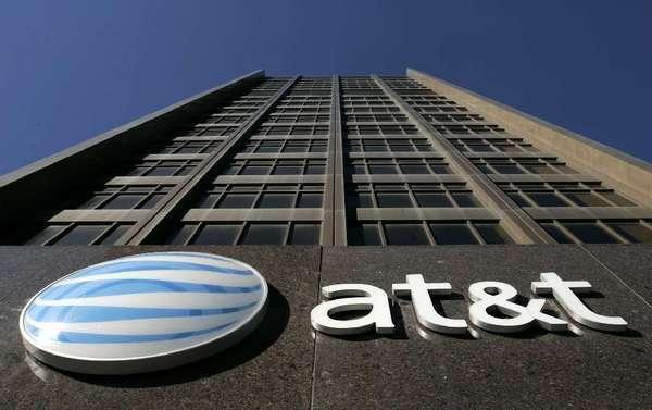 AT&T's Detroit headquarters.