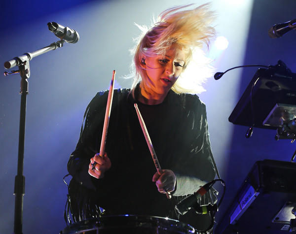 Ellie Goulding performs Jan. 21 at Terminal 5 in New York City.
