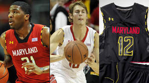 Terps Trio: Pe'Shon Howard, starting lineup, hoops uniforms