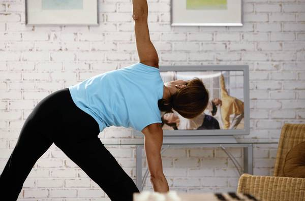 Streaming videos can make it more convenient to exercise when and where you can.
