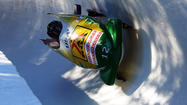 Bobsled pusher Katie Eberling of Palos Hills is in position to win a second straight medal at the World Championships.