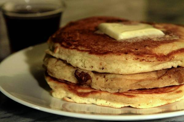 Neil's pancakes from Clinton Street Baking Co. in New York.
