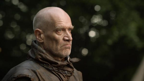 "Wilko Johnson, who has been diagnosed with pancreatic cancer, as Ser Ilyn Payne in HBO's ""Game of Thrones."""