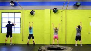 CrossFit helps beat the plateau