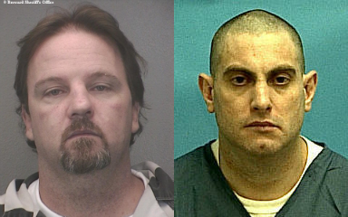 Photos: Mackey (l)/Broward Sheriff's Office 2007 mug | Trucchio (r)/FL DOC