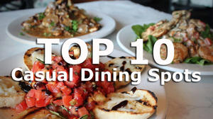 Top 10 Casual Dining Spots for Valentine's Day