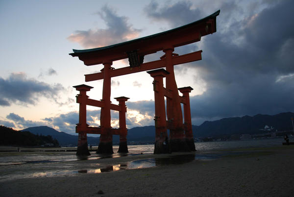 Torii, ltsukushima Shinto Shrine, Japan