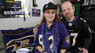 This is what kind of roll the Ravens are on now: they've even inspired a love story. It's not a gauzy, Hallmark Channel tale, but a story of serendipity, fate and perseverance — and a football team at the center of it all.