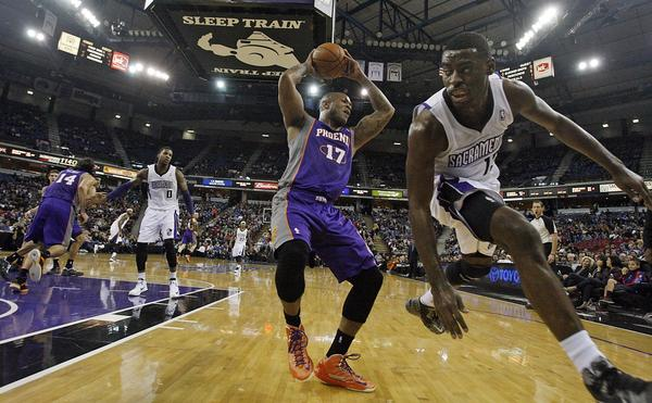 The Sacramento Kings pay the Phoenix Suns at the Sleep Train Arena on Jan. 23.