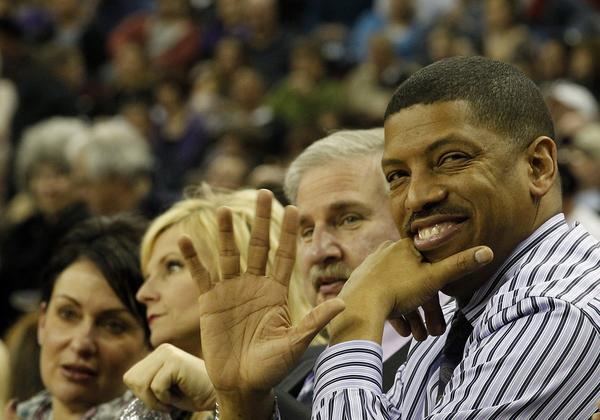 Sacramento Mayor Kevin Johnson, a former NBA star, has made it his mission to keep the Kings from moving out of town because of an ownership change.