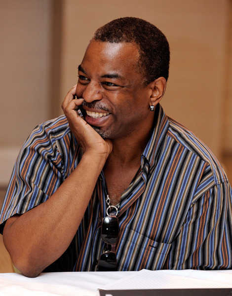 "The actor is noted for a variety of roles: Kunta Kinte in the miniseries ""Roots,"" Geordi La Forge on ""Star Trek: The Next Generation"" and as host of the PBS children's show Reading Rainbow. LeVar Burton is 54."