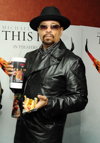 The actor-rapper and Newark, New Jersey native has eight albums and more than 50 roles to his credit. Ice-T is 53.