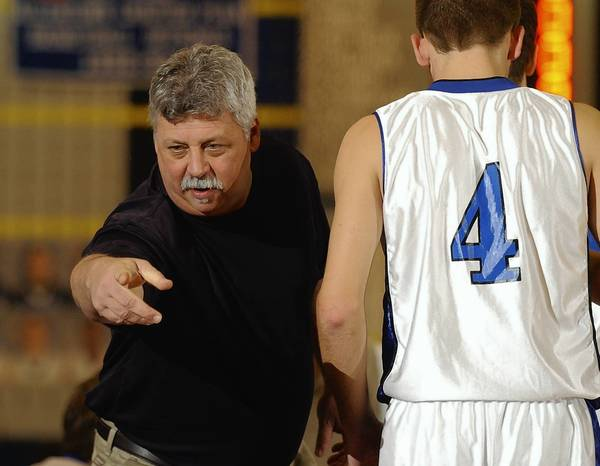 Southern Lehigh High School boys basketball coach Bob Shaffer has led the Spartans to two league titles and one district title.