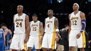 Lakers' melodrama tops midseason review