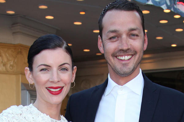 "Liberty Ross and Rupert Sanders in happier times at a ""Snow White and the Huntsman"" screening in L.A. in May."