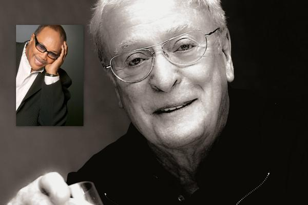 Musician Quincy Jones, inset, and actor Michael Caine will celebrate their joint birthdays at a benefit April 13 in Las Vegas.