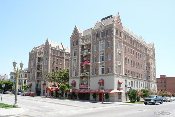 The Windsor apartments were built in the 1920s in what is now the Koreatown district of Los Angeles.