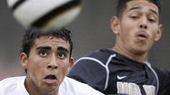 Photo Gallery:  Crescenta Valley High vs. Muir High in boys soccer