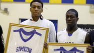 Simeon All Access | Parker, Nunn do work before jersey numbers retired