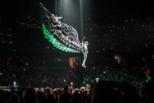 Justin Bieber performs in concert at Amway Center in Orlando, Fla. on Friday, January 25, 2013.