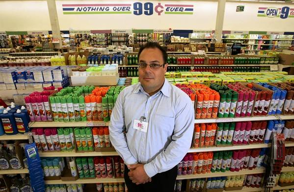 Chief Administrative Officer Jeff Gold, shown in 2008, is part of the family management team that has left 99 Cents Only Stores.
