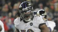 Ravens starting inside linebacker Dannell Ellerbe was held out of practice Saturday for the third consecutive day due to a sprained right ankle and minor back injury.