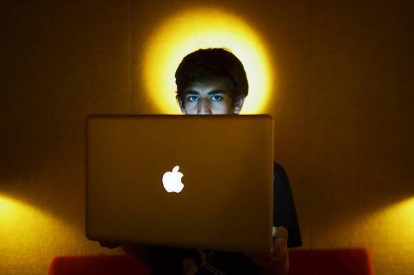 Aaron Swartz, shown in 2009, had written on his blog about his history of depression.
