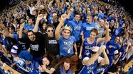 Cameron Indoor Stadium's message to Terps: 'Good Riddance'