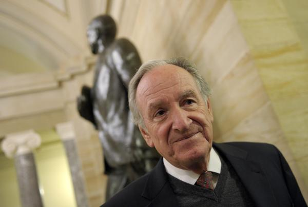 Sen. Tom Harkin, 73, was first elected to the House of Representatives in 1974 and became a senator in 1984.