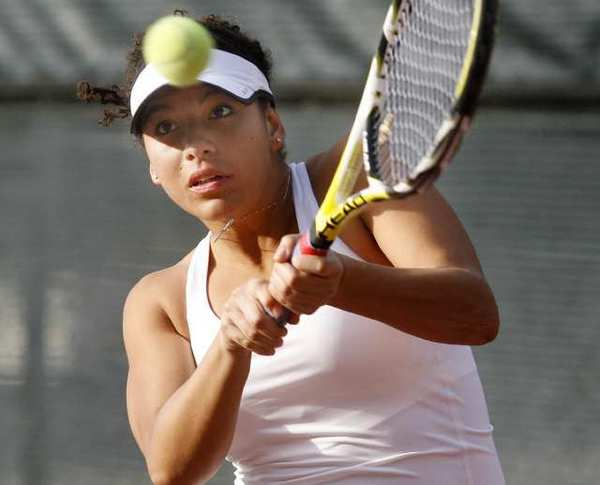Sofia Tavitian will look to help lead the Glendale Community College women's tennis team to more success in the Western State Conference in 2013.