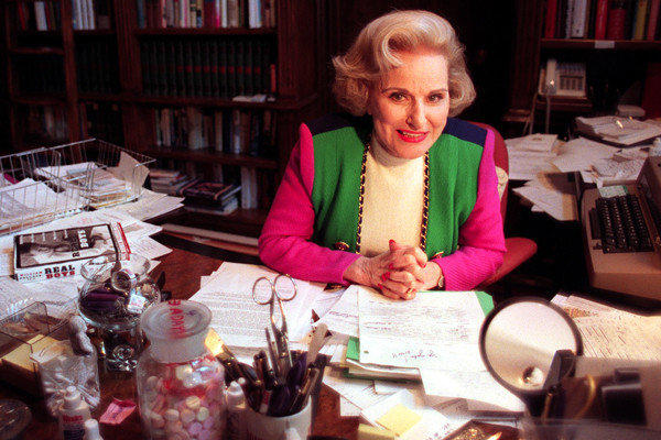 "Writing as Abigail Van Buren, Phillips was the original ""Dear Abby"" whose no-nonsense advice was dispensed to newspaper readers around the world for over 40 years. Her identical twin also wrote an advice column, as Ann Landers. Phillips was 94. <a href=""http://www.latimes.com/news/obituaries/la-me-pauline-phillips-20130118,0,861274.story"" class=""center_label"">Full obituary</a>
