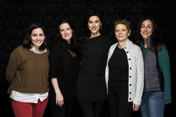 Hannah Fidell, left, Liz Garcia, Cherien Dabis, Naomi Foner and Gabriela Cowperthwaite.