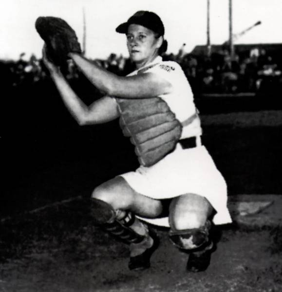 Ruth Richard of West Rockhill Township is a former All-Star catcher with the All American Girls Professional Baseball League. She was immortalized in the film 'A League of Their Own.'