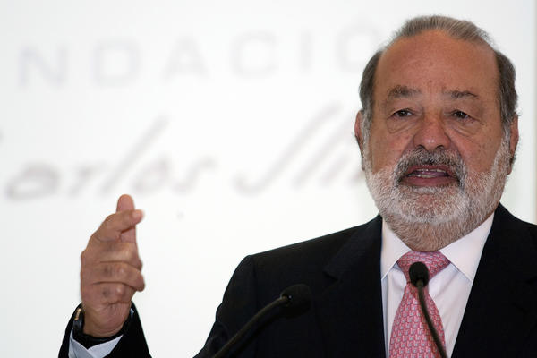 Billionaire Carlos Slim, at a news conference this month, is making progess in his efforts to break into the Mexican television market.