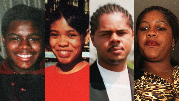 Siblings Carlos, from left, LaToya, and Jerome Chambers, and their mother Shirley Chambers. Carlos was killed in 1995 and LaToya and Jerome were killed in 2000. Their sibling Ronnie was killed on Jan. 26, 2013.