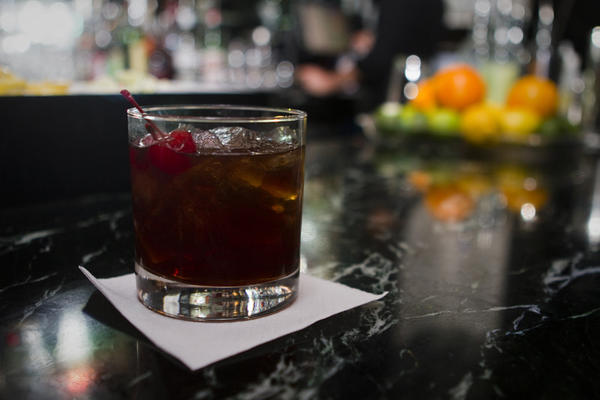 The Manhattan photographed at Prohibit (116 W. Hubbard Street, Lower Level) on Friday, January 25, 2013.