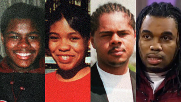 Siblings from left: Carlos, LaToya, Jerome and Ronnie Chambers. Carlos was killed in 1995 and LaToya and Jerome were killed in 2000. Ronnie was killed on Jan. 26, 2013.